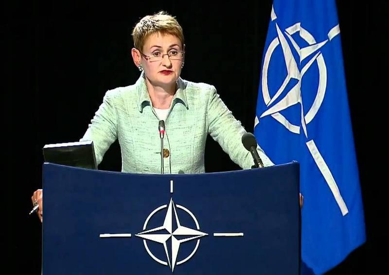 Официальный представитель Североатлантического альянса Оана Лунгеску разглагольствует о том, что теперь Украине много чего предоставят.