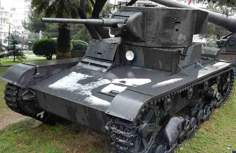 Один из сохранившихся Т-26 экспонируется в Стамбульском военном музее.