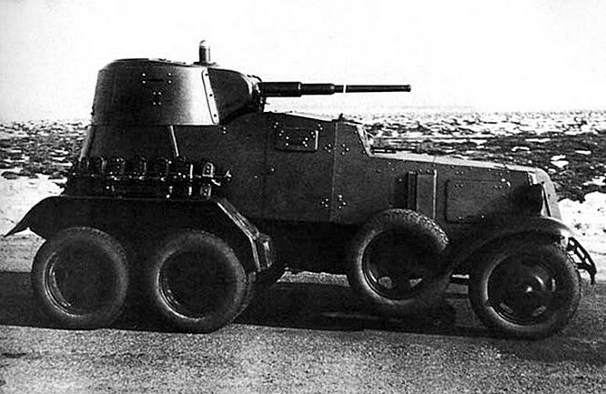 Вместе с Т-26 турки закупили ещё и 60 средних бронеавтомобилей БА-6.