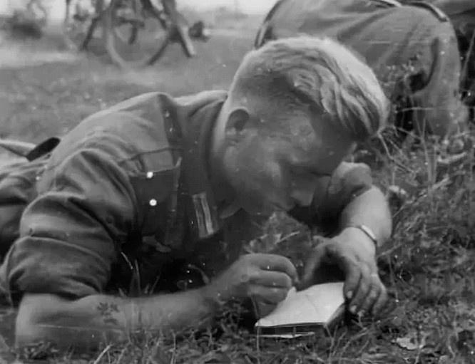 Зверства над беззащитными людьми немецкие солдаты и офицеры скрупулёзно описывали в своих дневниках.