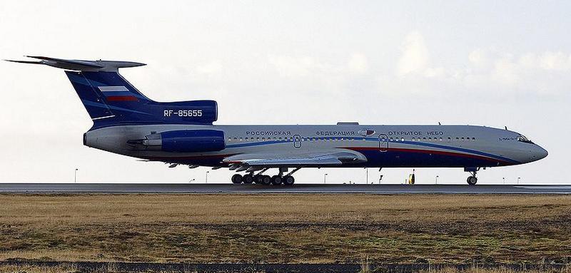 Ту-154М-ЛК1 - предшественник Ту-214ОН.