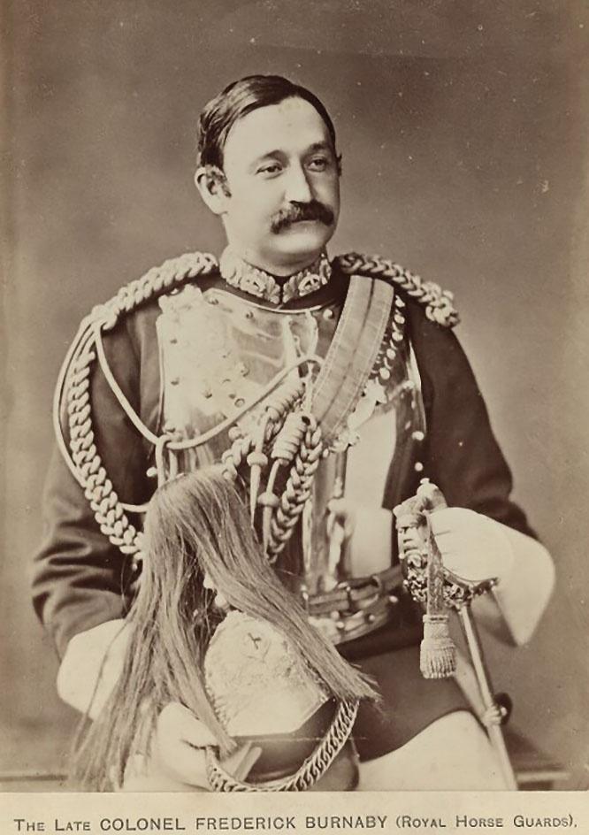 За сведения о планах России Фредерика Барнаби удостоили аудиенции у королевы Виктории.