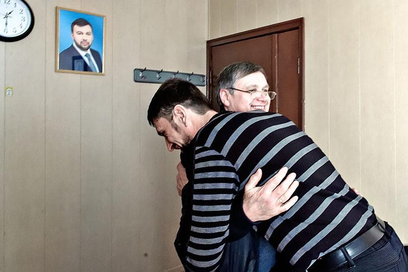 Владимир Черкас и Константин Чалый - долгожданная встреча.