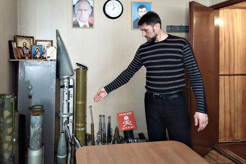 Страшная коллекция смертоносных подарков украинской армии.