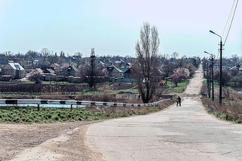Дорога от Петровки до Александровки.
