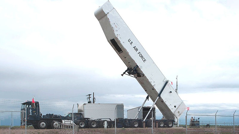 Ракеты LGM-30G Minuteman-III являются основным видом вооружения сухопутных ракетных баз.