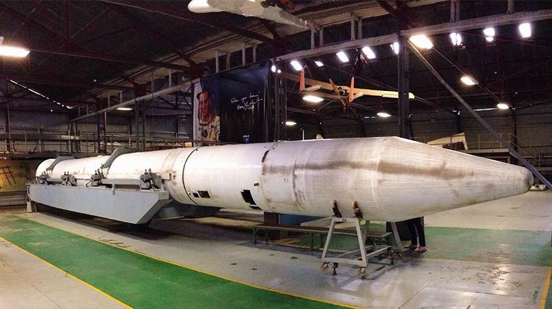 Баллистическая ракета RSA-4 на базе израильских ракет «Шавит» и «Иерихон».