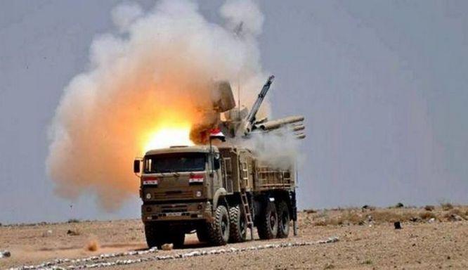 ЗРК «Панцирь» хорошо показал себя в боевых действиях, в том числе в Сирии.