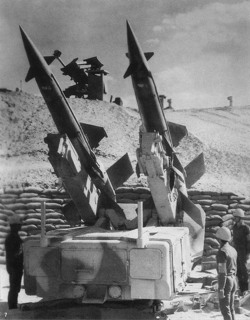 Зенитные ракетные комплексы С-125 «Нева» в Египте.
