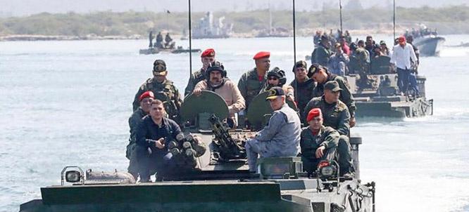 Президент Мадуро пользуется массовой поддержкой населения, армии и сил безопасности.