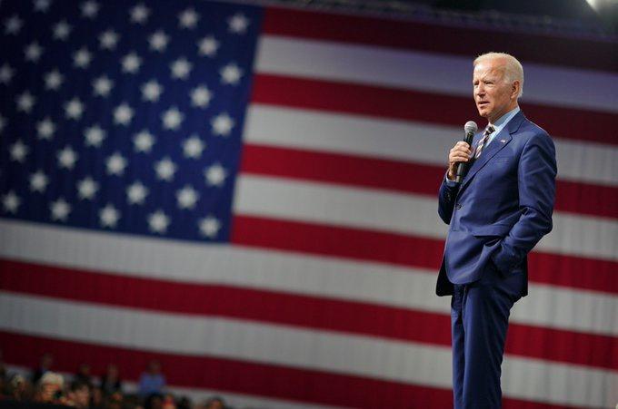 Кандидат в президенты от Демократической партии Джо Байден считает, что президент Трамп - изменник.