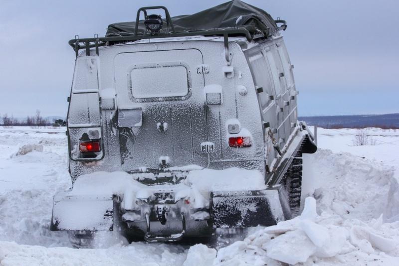 Заволжский завод гусеничных тягачей уже поставил в Российскую армию порядка 30 снегоболотоходов «Алеут».