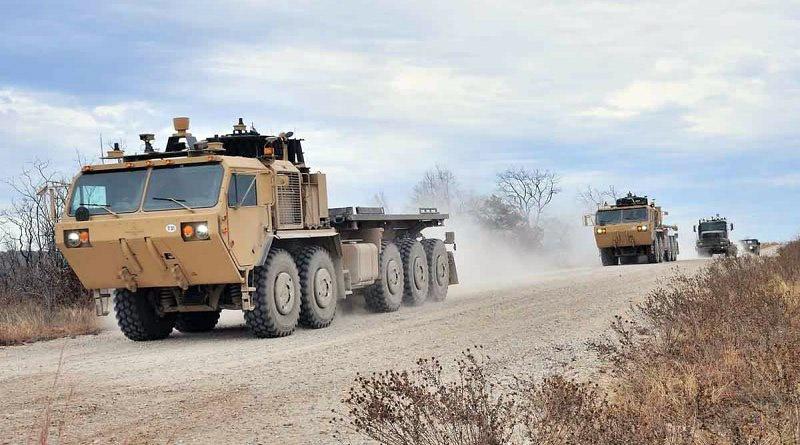 Командование сухопутных войск и Корпус морской пехоты испытали в 2017 году прототип автономных роботизированных транспортных средств.