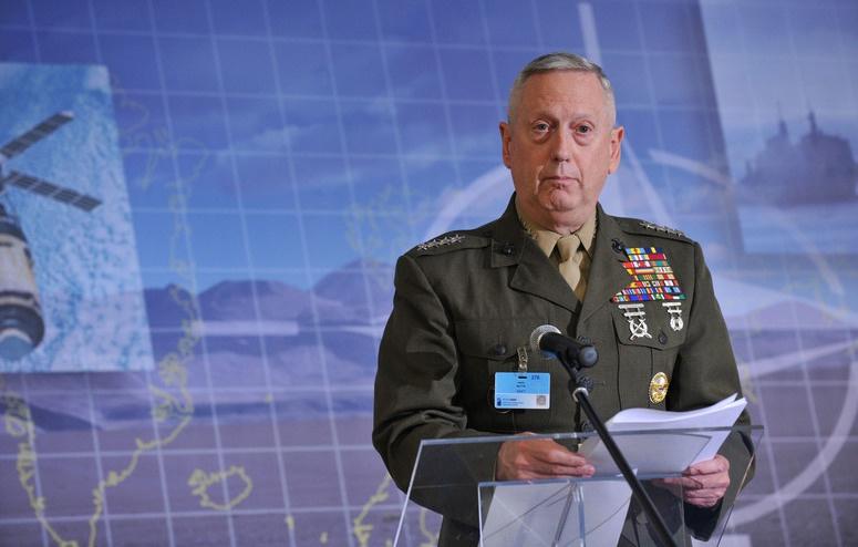 Инициатором разработки и внедрения концепции«динамичного применения сил» был министр обороны Джеймс Мэттис.
