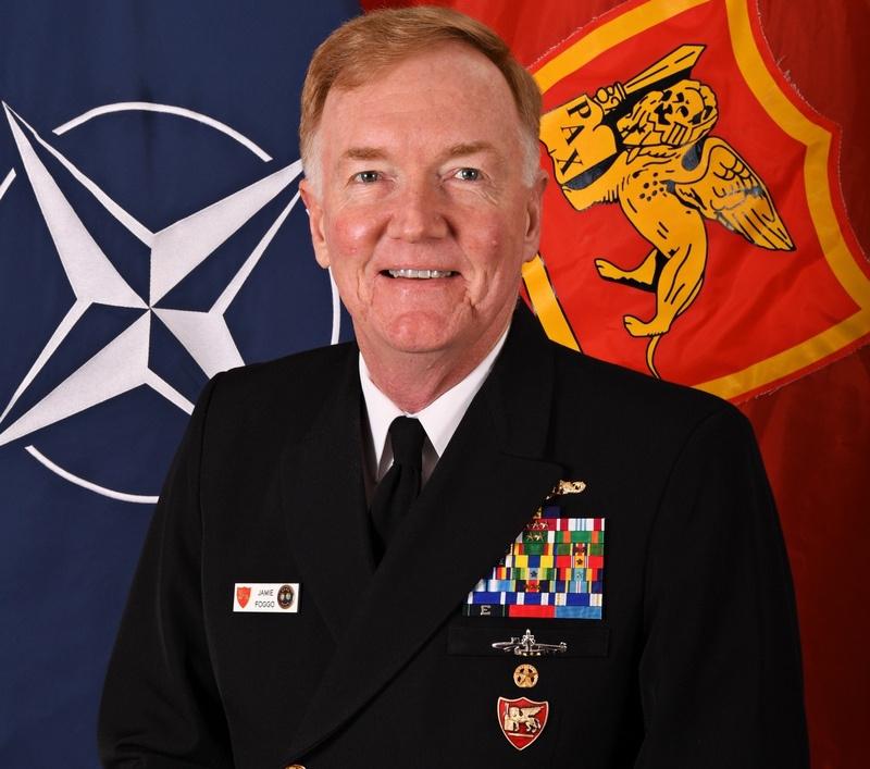 Глава Объединённого командования ВС НАТО в Неаполе адмирал Джеймс Фогго III.