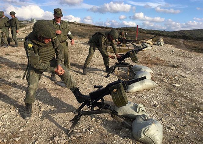 Важным фактором воспитания боевого духа курсантов-десантников является полевая выучка.
