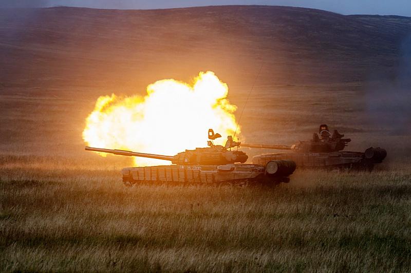 «Танковая карусель» - это постоянная сменяемость танков на огневой позиции.
