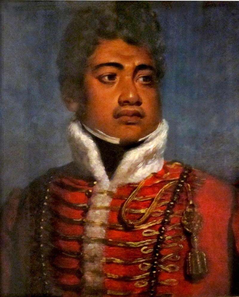 Король Гавайев Камеамеа II.