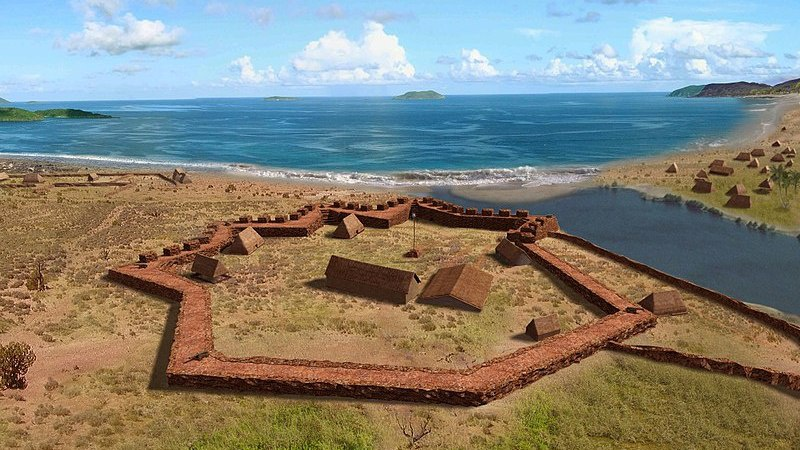 Реконструкция Елизаветинского мемориала на острове Кауаи.