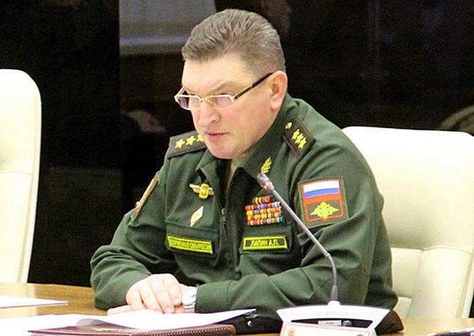 Командующий войсками Центрального военного округа генерал-полковник Александр Лапин.