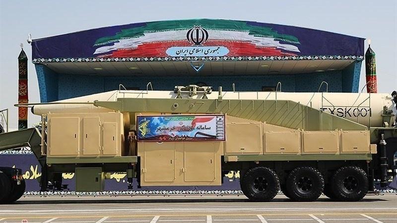 Радиус действия баллистических ракет «Хорремшехр» достигает двух тысяч километров.