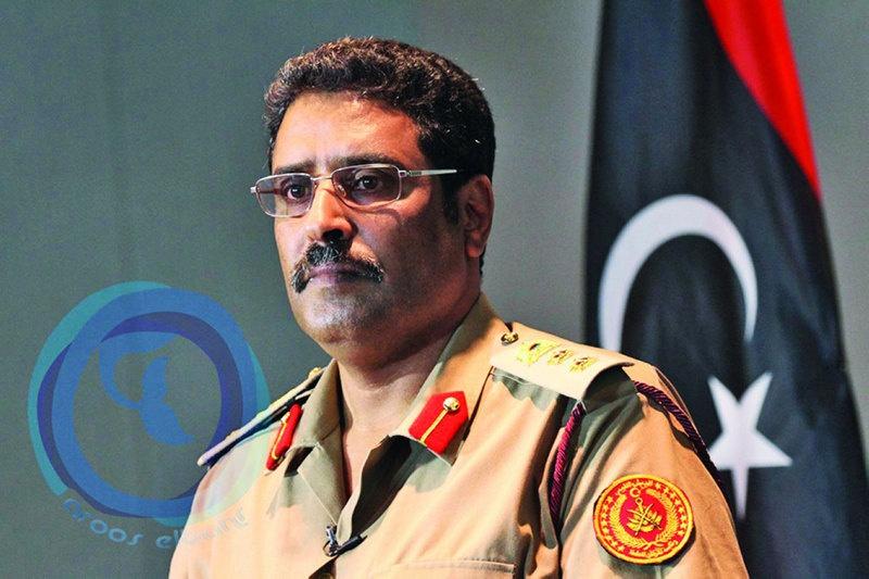 Официальный представитель ЛНА Ахмед аль-Мисмари.