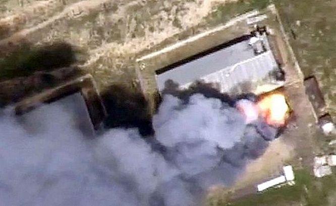 По захваченной в мае турками военно-воздушной базе Аль-Ватыйя был нанесён мощный ракетно-бомбовый удар.