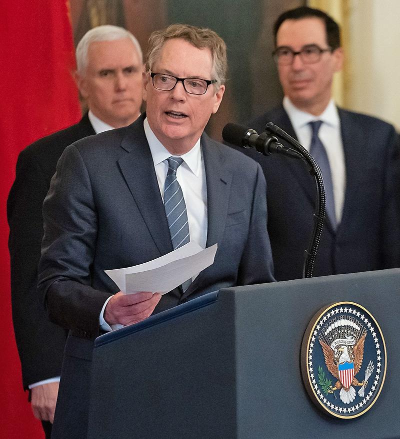 Торговый представитель США Роберт Лайтхайзер.