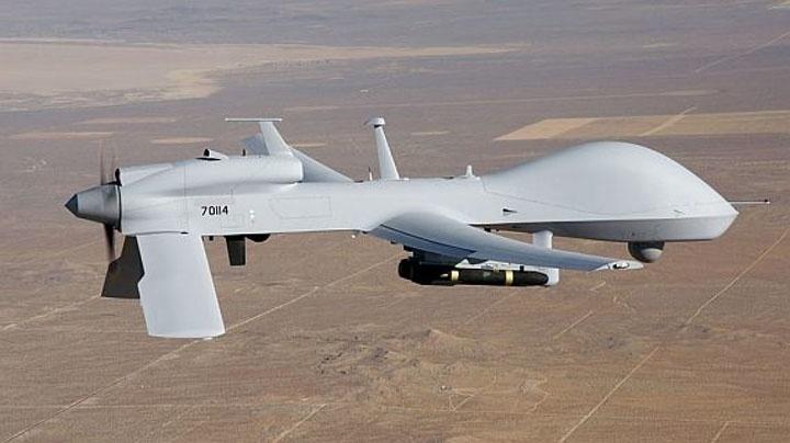 Беспилотник-разведчик MQ-1C Gray Eagle.
