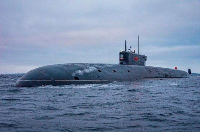 Ракетный подводный крейсер стратегического назначения «Князь Владимир».