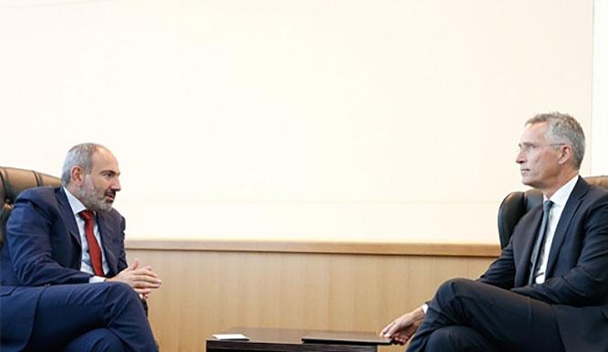 Армения является важным партнёром для НАТО, заявил генеральный секретарь организации Йенс Столтенберг премьер-министру Армении Никола Пашиняну.