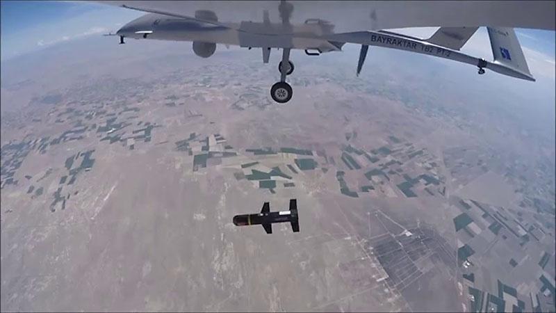 Во время операции «Оливковая ветвь» BTB2 шли в бой довольно часто.