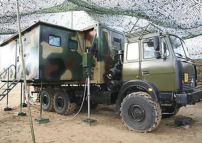 Маскировка комплексов связи, антенных модулей и командно-штабных машин проведена с перекрытием нормативов.