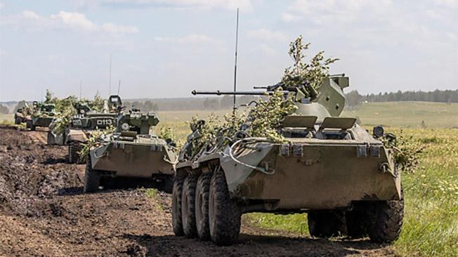 Войска выдержали «экзамен» высшей степенью боевой готовности