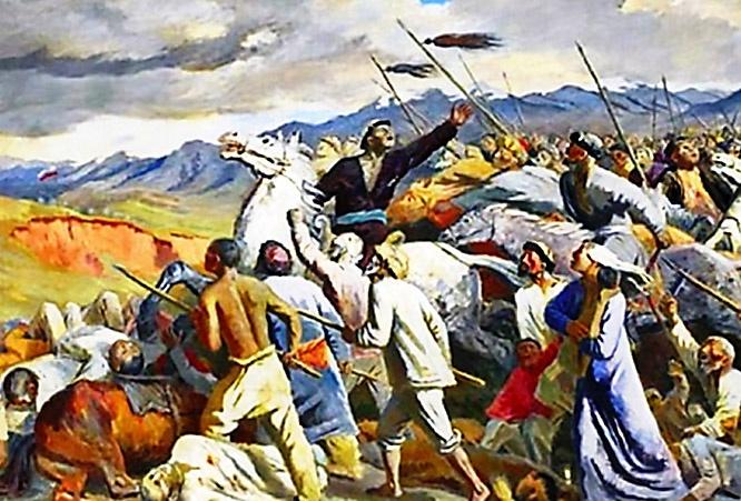 Восстание в Туркестане в 1916 году.