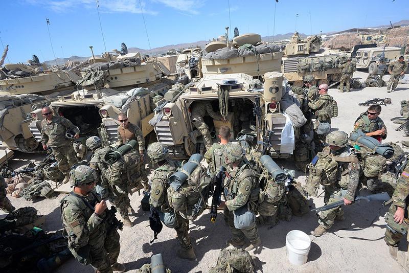 По плану Пентагона 6,4 тыс. воинов вернутся на родину.