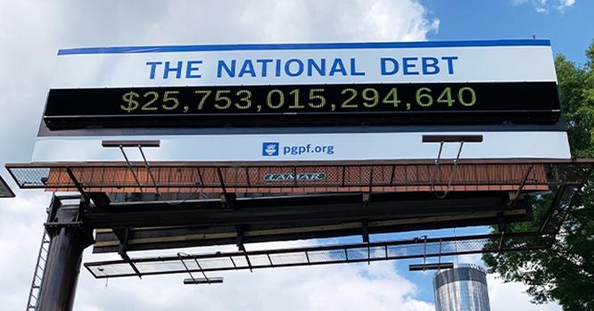 Госдолг США превысил $25 триллионов и до конца года может ещё существенно подрасти.
