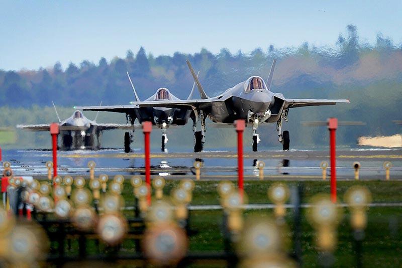 Перевооружение ВВС США в Арктическом регионе на современные истребители F-35A «Lightning II» должно завершиться в 2021 году.