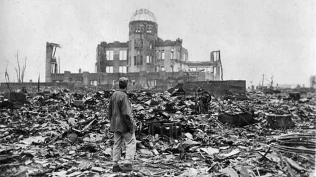 6 августа 1945 года была сброшена атомная бомба на Хиросиму.