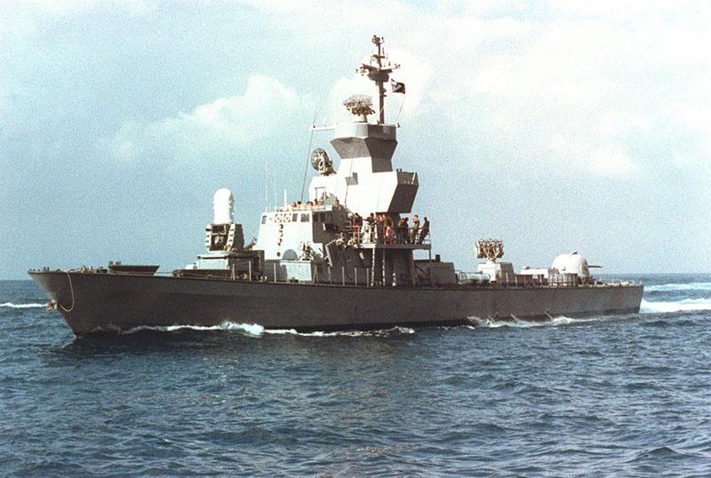 Израильские ракетные катера типа «Саар» подходили к БРзК «Крым» на дистанцию стрельбы.