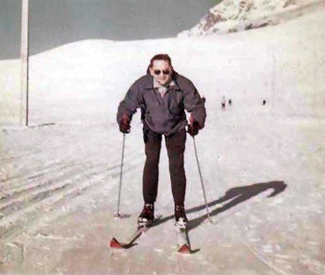 Свободное время нелегал проводил в Альпах.