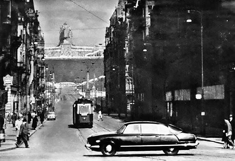 Прага 1950-х.