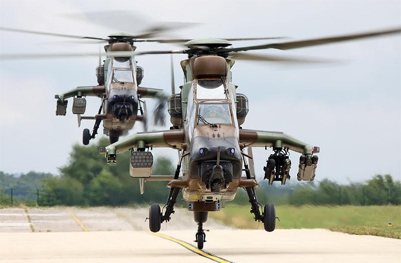 На крыле-консоли у Tiger предусмотрены 4 точки подвески вооружения.