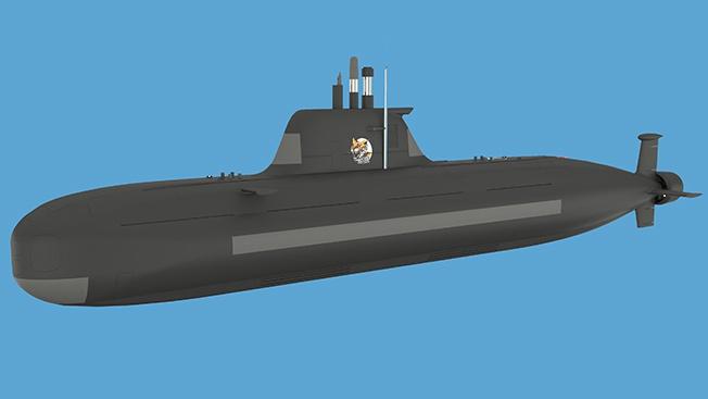Малая подлодки проекта П-750Б «Сервал».