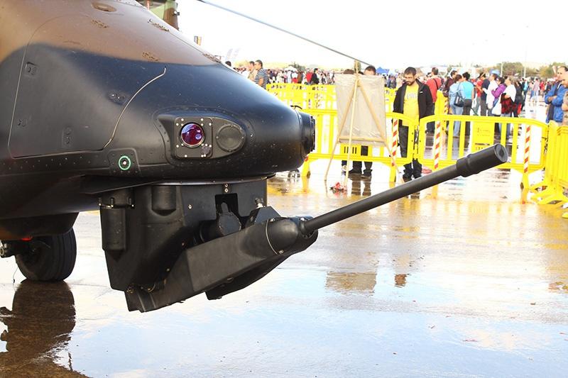Tiger вооружён 30-мм пушкой GIAT 30M/781.