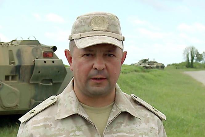 Командарм общевойсковой армии ЗВО генерал-майор Владислав Ершов.