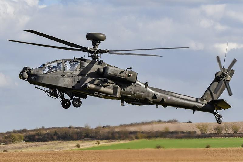 В армии США 690 вертолётов AH-64E Apache (выпускаются с 2012 г.).