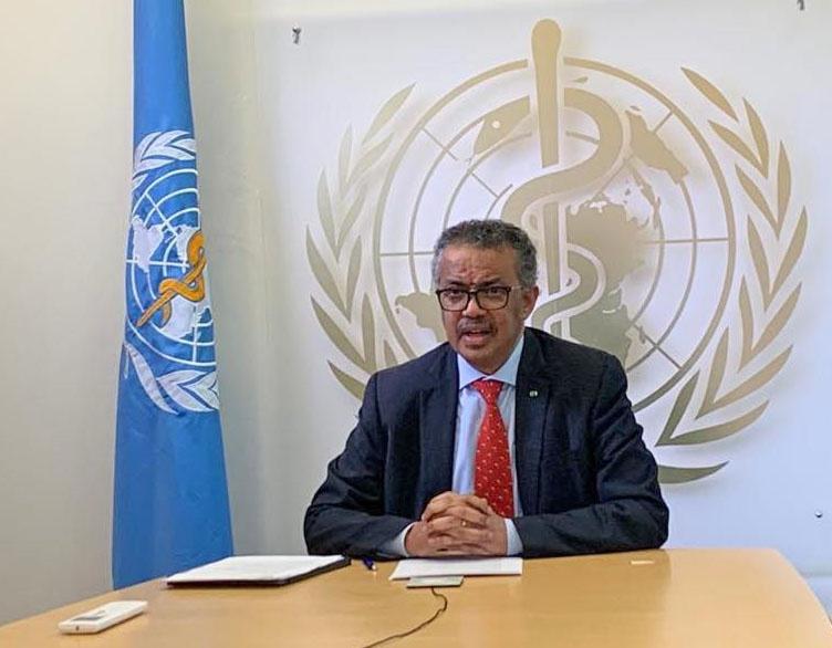 Гендиректор ВОЗ Тедрос Аданом Гебрейесус продолжает сбор средств на разработку вакцины от коронавируса.