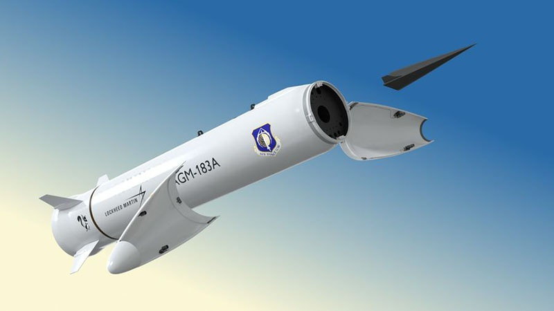 Отделение гиперзвукового блока от ракеты-носителя.