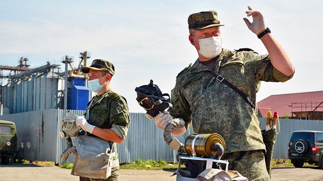 Специалисты Минобороны приступили к ликвидации химического загрязнения в Иркутской области.
